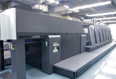 枚葉UV6色印刷機イメージ