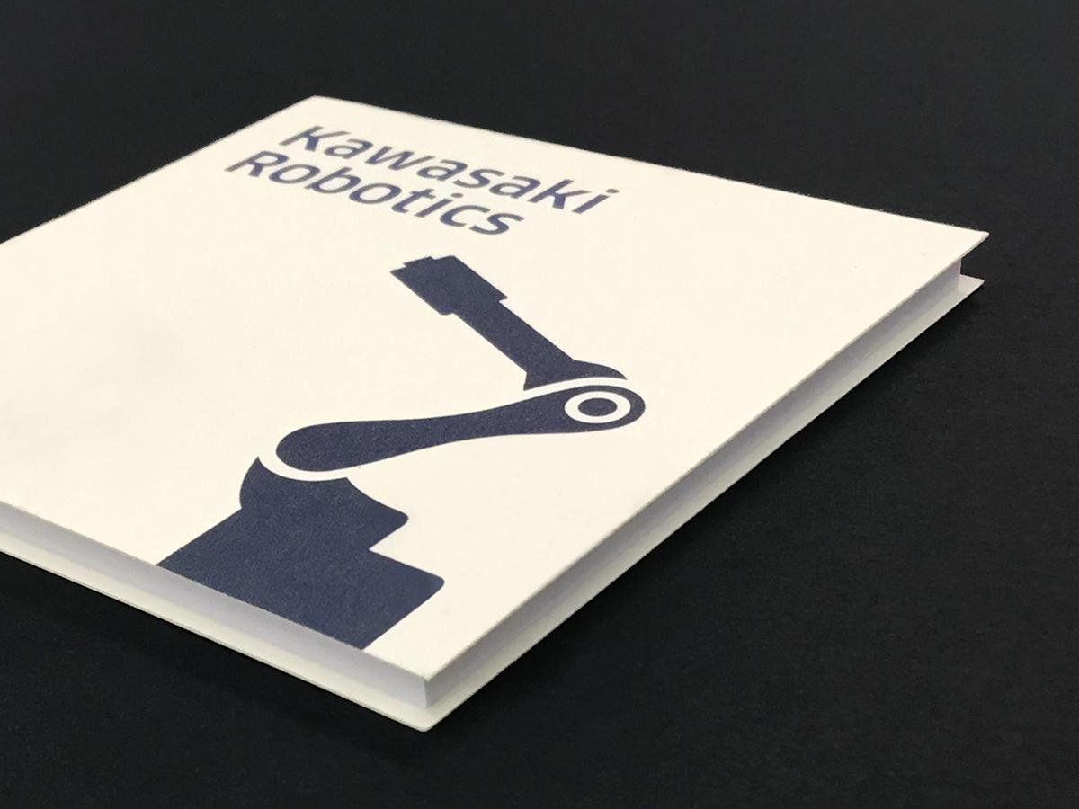 Kawasaki Robotics 付箋の画像