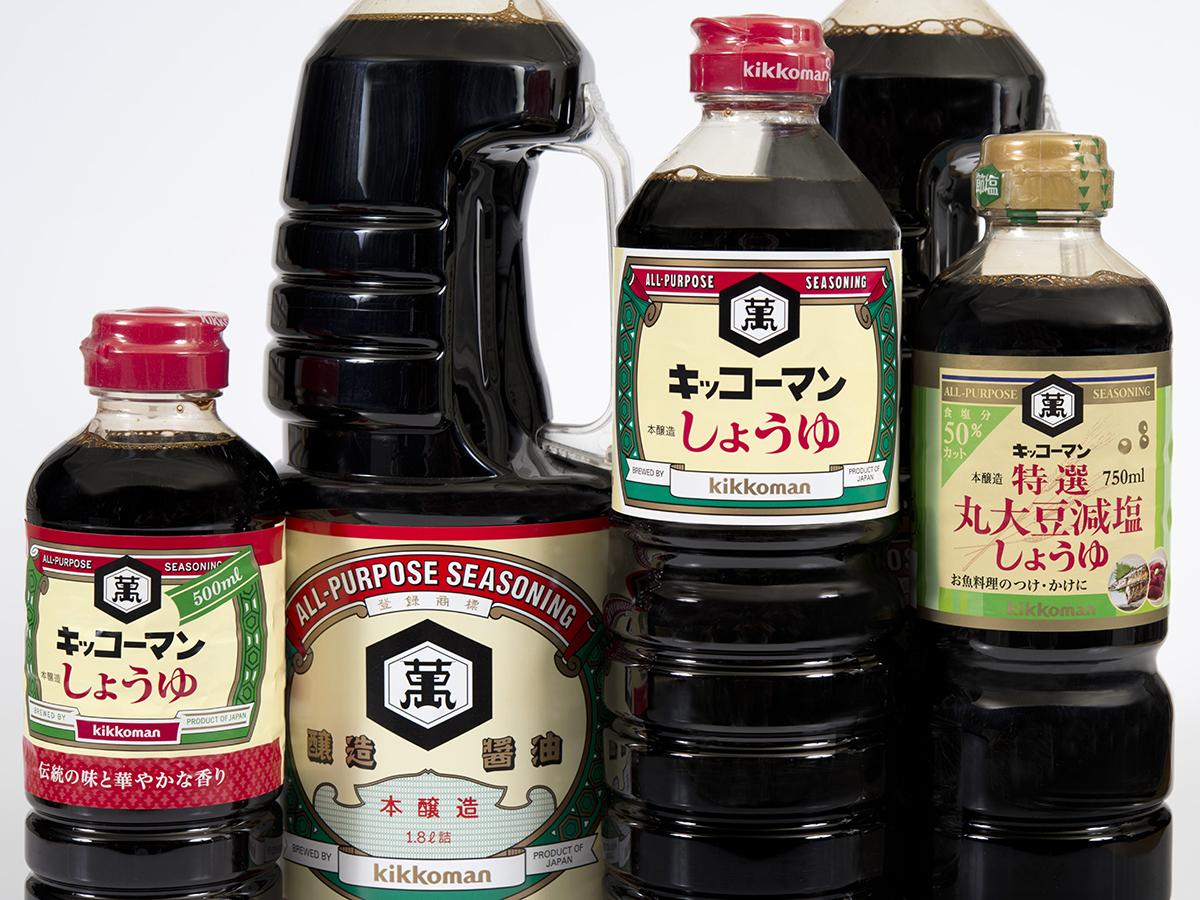 醤油ラベルの画像